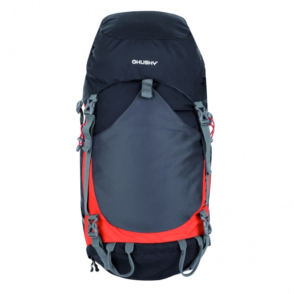 Рюкзак Husky Menic 50, черныйПрактичный рюкзак позволит вам взять с собой все необходимое. Очень удобен в использовании благодаря системе вентиляции спины.<br><br>Особенности: новая эргономичная регулируемая система задней стенки с дюралевой рамой, регулирующаяся, с карманом, 1 основное отделение с дополнительным доступом снизу, крышка рюкзака с карманами, утолщённые и дышащие эргономичные плечевые лямки, поясной и нагрудный ремни, боковые и нижние компрессионные ремни, дополнительные петли для палок, ледоруба, и другой экипировки, защитная гермонакидка, водоотталкивающие молнии, отражающие элементы, боковые эластичные карманы, держатель для гидратора<br><br>Вес кг: 1.80000000