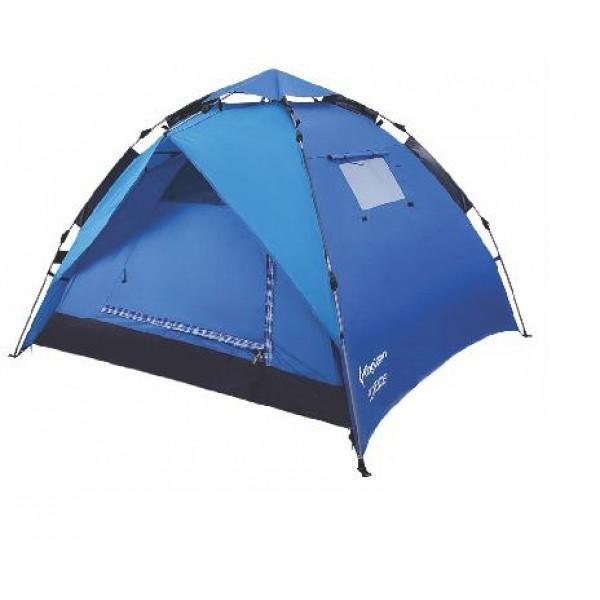 Палатка KingCamp Florence2+1Легкая двухслойная полуавтоматическая палатка, может использоваться в качестве отдельного тента<br><br>Вес кг: 3.30000000