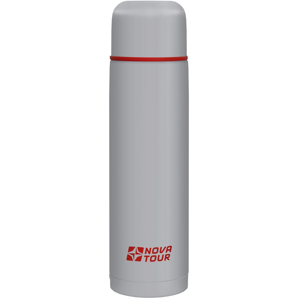 Термос Nova Tour Титаниум 1000Термос, ёмкостью 1,0л, выполненный из пищевой нержавеющей стали, с поворотным клапаном (Достаточно повернуть пробку на пол-оборота чтобы налить содержимое из термоса), который дает возможность при наливании не открывать термос целиком для меньшего охлаждения содержимого. Не большой диаметр корпуса делает термос удобным для обхвата и открытия крышки даже детской рукой.<br><br>Вес кг: 0.70000000