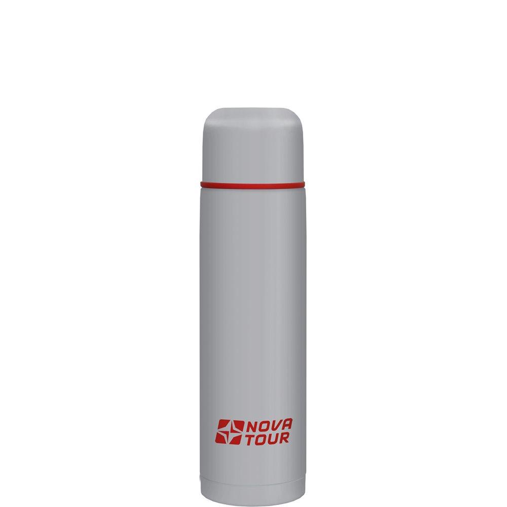 Термос Nova Tour Титаниум 500Термос, ёмкостью 0,5 л, выполненный из пищевой нержавеющей стали, с поворотным клапаном (Достаточно повернуть пробку на пол-оборота чтобы налить содержимое из термоса), который дает возможность при наливании не открывать термос целиком для меньшего охлаждения содержимого. Не большой диаметр корпуса делает термос удобным для обхвата и открытия крышки даже детской рукой.<br><br>Вес кг: 0.40000000