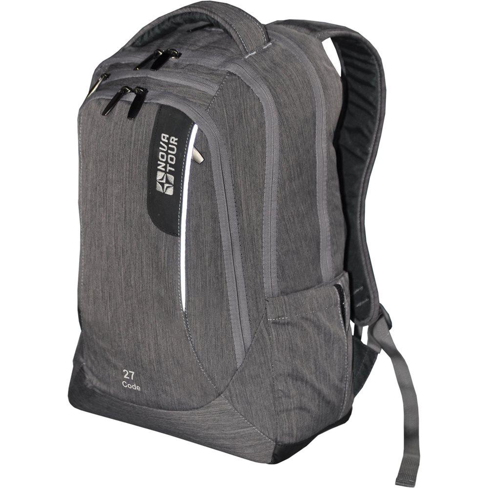Рюкзак Nova Tour Код 27 серыйСтильный, с отдельным карманом под ноутбук и документы В рюкзаке есть все, чтобы чувствовать себя комфортно в городском ритме жизни.<br><br><br>3 отделения<br><br>Отдельный карман под ноутбук 17''<br><br>Органайзер<br><br>боковые карманы<br><br>светоотражающие вставки на фронтальной части и на лямках<br><br>Вес кг: 0.70000000