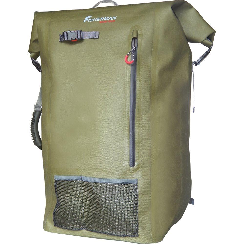 Рюкзак Nova Tour Брим Pro100% водонепроницаемый рюкзак! Вы собираетесь на длительную рыбалку? Пешком или на лодке? Это не имеет значения! С рюкзаком «Брим» будет комфортно в любом случае! Кроме того, что рюкзак 100% водонепроницаемый и все ваши вещи будут под надежной защитой в любую непогоду, он оборудован большим количеством полезных вещей! Карман и петля для удочек или спиннингов, два влагозащищенных кармана, ручка для переноски. Подвесная система рюкзака проста и очень удобна, ее легко подогнать под любую фигуру, а благодаря поясному и грудному ремню, даже очень тяжелые грузы, покажутся невесомыми!<br><br>Вес кг: 1.70000000
