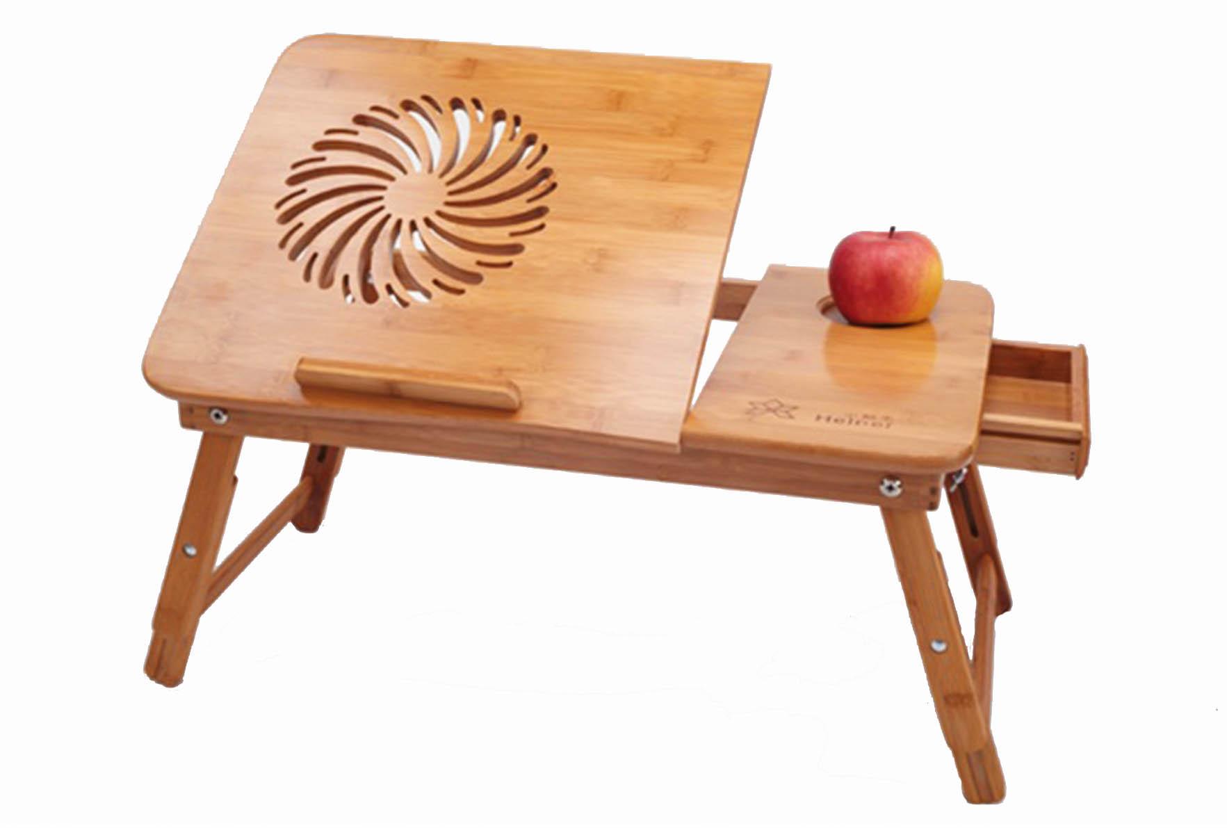 Столик для ноутбука Sititek Bamboo 1Бамбуковый столик SITITEK Bamboo 1 с системой охлаждения — идеальное решение для использования ноутбука на диване или лежа в кровати, а также для завтрака в постель! Регулируемая высота ножек, позволяет поставить столик рядом с диваном.<br><br>Изготовлен из бамбука — стильное дополнение к любому интерьеру, экологичный.<br>Регулируемые по высоте ножки позволяют по желанию ставить ноутбук рядом с диваном, кроватью или на них.<br>Встроенный вентилятор предотвратит перегрев ноутбука при длительной и интенсивной работе.<br><br>Вес кг: 2.80000000