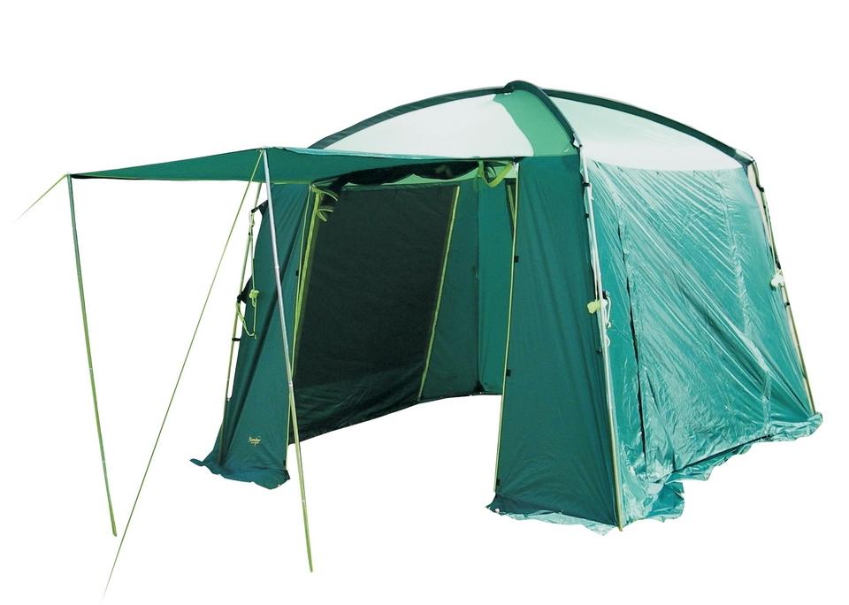 Тент Canadian Camper CAMPЭкспедиционный тент-шатер, каркас которого выполнен полностью из стального профиля. Отсутствие пластиковых соединительных деталей позволяет его использовать в самых неблагоприятных погодных условиях. Все входы и окна тента имеют москитные сетки и водонепроницаемые шторы от дождя.<br><br>Вес кг: 13.00000000