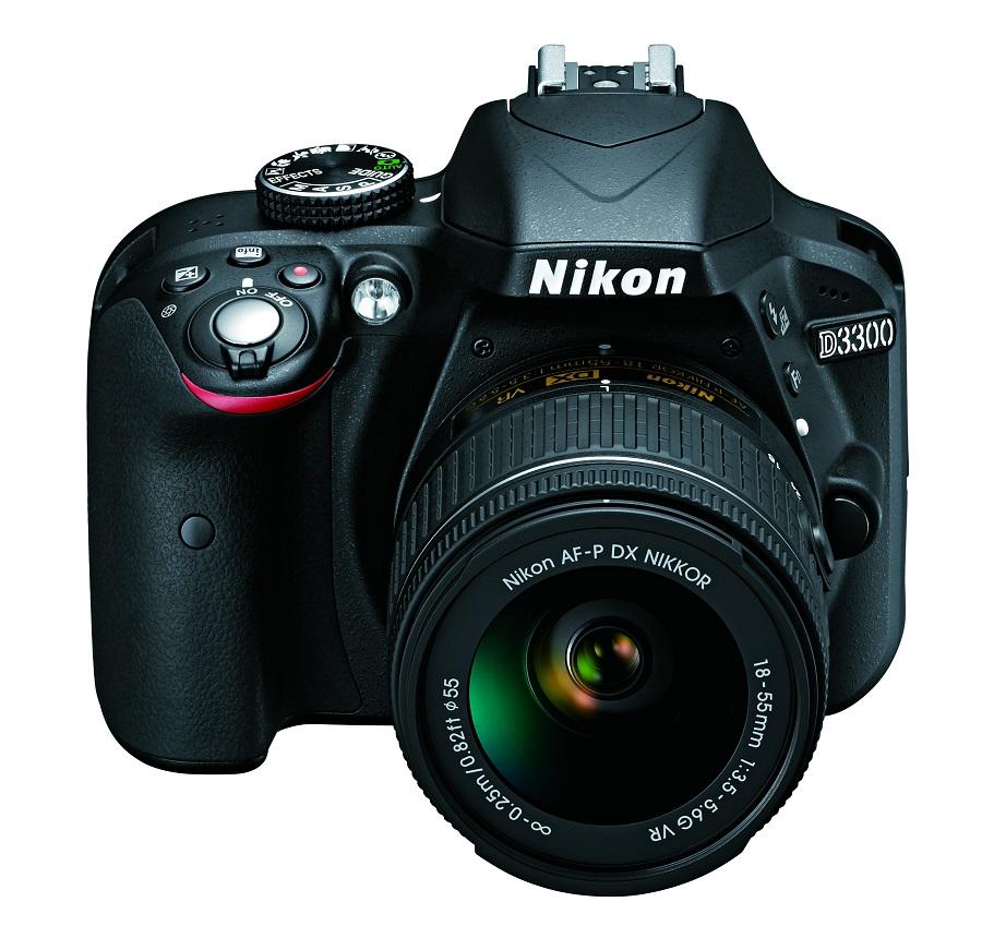 Фотоаппарат Nikon D3300 Kit AF-P DX 18-55 зеркальныйИзображения, сделанные с помощью фотокамеры D3300, идеально передают атмосферу важных событий. Эта мощная и простая в использовании цифровая зеркальная фотокамера с разрешением 24,2 мегапикселя имеет компактный корпус и небольшой вес. Ее удобно носить с собой, чтобы в нужный момент создавать незабываемые фотографии и видеоролики высокой четкости.<br><br>Большая матрица способна запечатлеть мельчайшие детали с великолепной резкостью и демонстрирует превосходные результаты при слабом освещении (чувствительность до 12 800 единиц ISO), благодаря чему можно получить кристально четкие изображения в темноте.<br><br>Для тех, кто делает первые шаги в фотосъемке с помощью цифровых зеркальных фотокамер или желает узнать больше, предусмотрено пошаговое руководство в режиме справки. С помощью адаптера для беспроводного подключения от компании Nikon, который приобретается дополнительно, можно легко загружать фотографии на любимые веб-сайты через интеллектуальное устройство.<br><br>Вес кг: 0.50000000