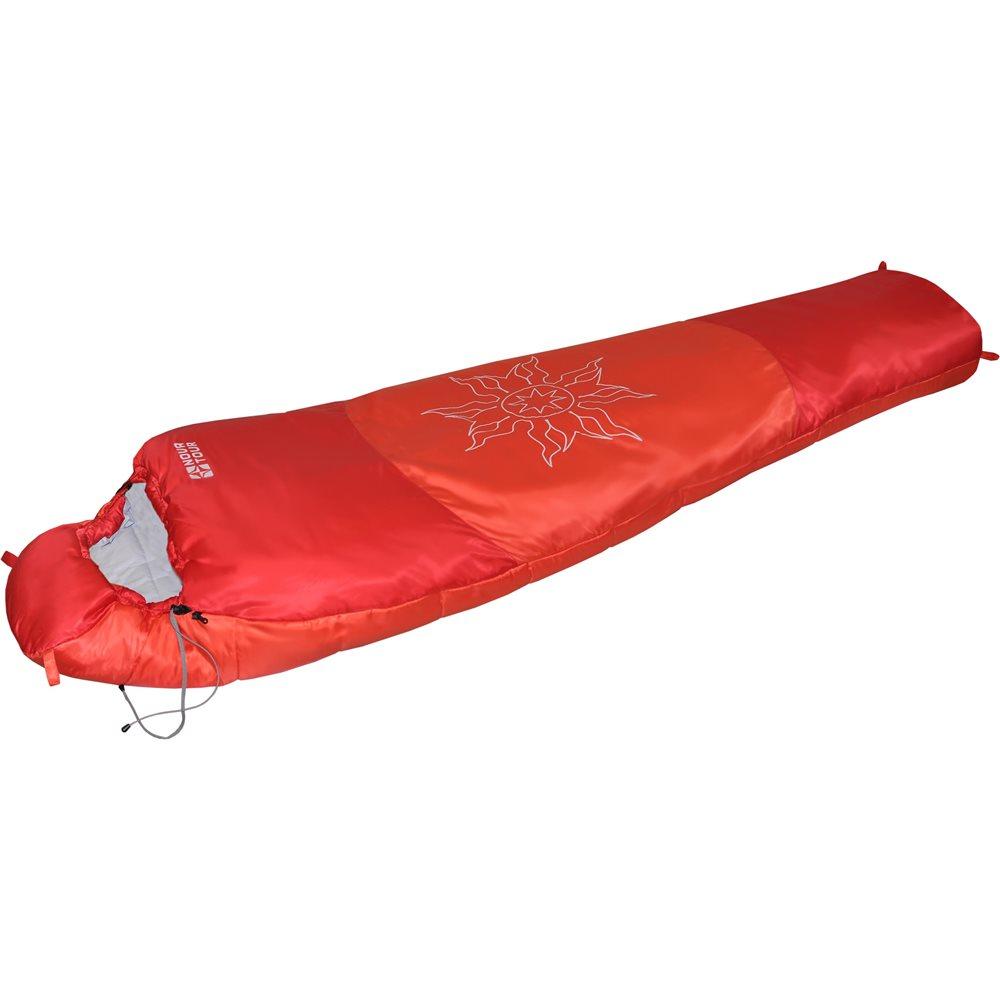 Спальный мешок Nova Tour Ямал XL V2Спальный мешок разработан для использования при низких температурах. Глубокий утягивающий капюшон и шейный воротник, утепленная молния – все для удержания тепла. Разъемные двух замковые молнии L/R позволяют объединить два спальных мешка (левый и правый вариант) в один двойной. Ямал XL - модель для высоких людей.<br><br>Вес кг: 2.40000000