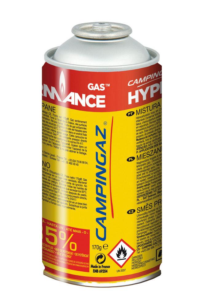 Газовый картридж Campingaz CG1750 HyperГазовый картридж Campingaz 3000004075 CG1750 Hyper содержит 170 гр газа ( спец микс с бутан -пропан ) До 35% Больше Мощности ! улучшенные характеристики при низких температурах ;<br>