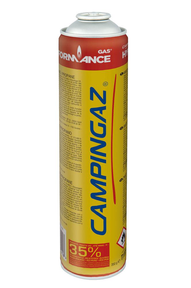 Газовый картридж Campingaz CG3500 Hyper бутан/пропанCampingaz 3000004072 CG3500 Hyper газовый картридж содержит 350 гр газа ( спец микс с бутан -пропан ) До 35% Больше Мощности ! улучшенные характеристики при низких температурах ;<br>
