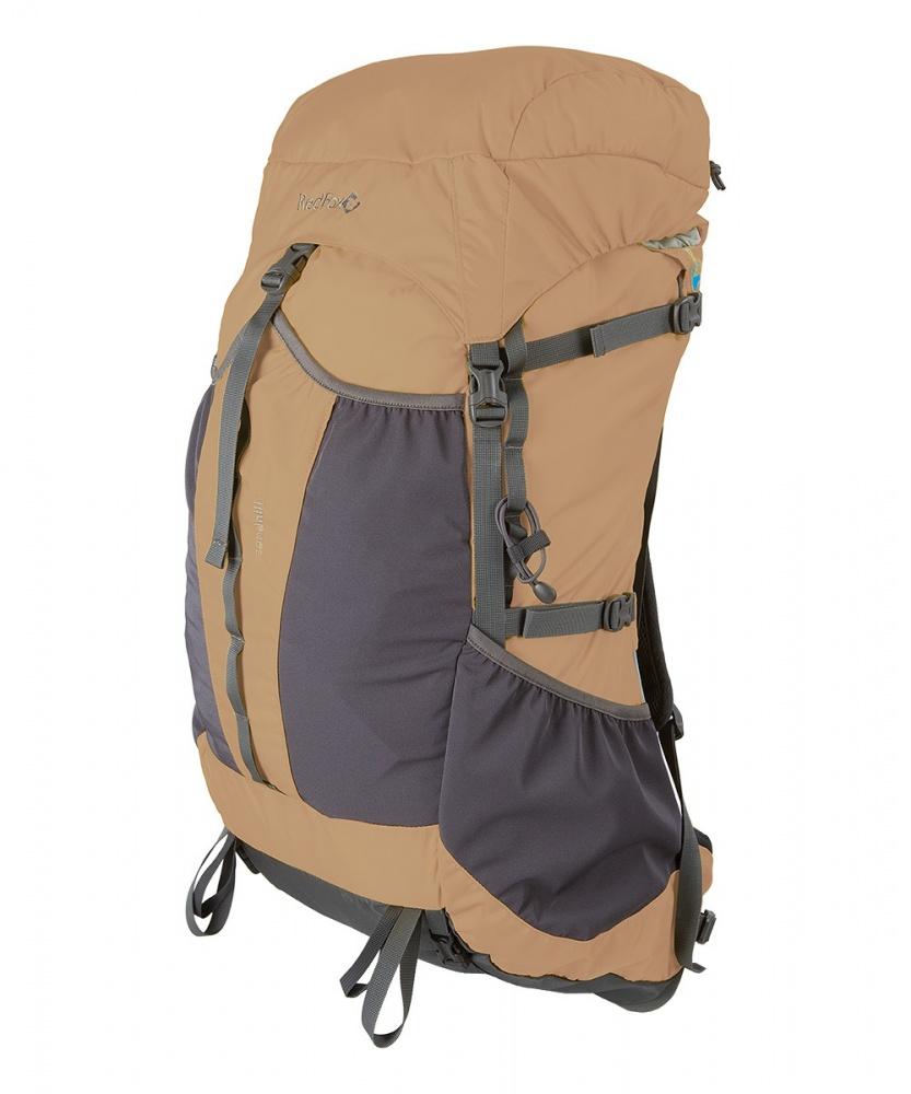 Рюкзак RedFox Sand Hill 45Облегченный рюкзак уменьшенного объема.<br><br><br>подвесная система Air Vent<br><br>клапан с карманом на молнии<br><br>анатомический поясной ремень<br><br>фронтальный карман с эластичными вставками<br><br>эластичные боковые карманы<br><br>два объемных карман на поясе<br><br>крепления для лыж и тренинговых палок<br><br>грудной фиксатор лямок и боковые стяжки<br><br>возможность размещения питьевой системы<br>