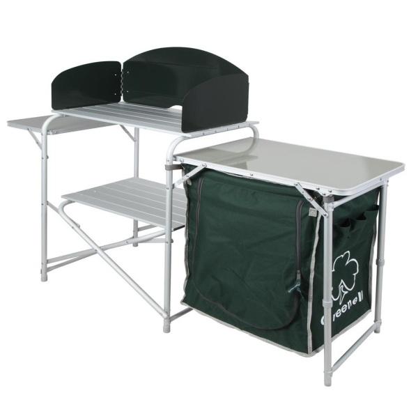 Стол Greenell Ft-7krСкладной кухонный стол - незаменимая вещь для отдыха на даче или выходных на природе. Готовить пищу превращается в приятный отдых, когда все под рукой, даже в походных условиях. Каждый любитель отдыха на свежем воздухе оценит практичность складного стола FT-7KR от Greenell.<br><br>Вес кг: 8.60000000