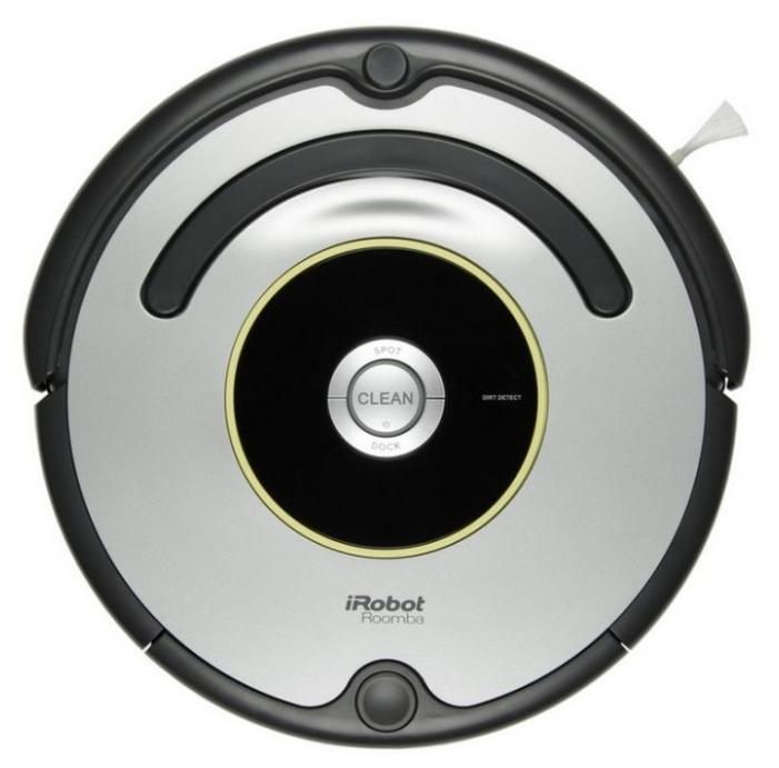 Робот-пылесос iRobot Roomba 616Новая модель Roomba 616. Для запуска нужно всего лишь нажать кнопку «Clean» на роботе, и Roomba 616 самостоятельно очистит до 60 квадратных метров без подзарядки. Укомплектован контейнером AeroVac Bin. Новый контейнер не только имеет повышенную емкость, предназначенную для сбора шерсти, но также оснащен всасывающим устройством и имеет компактный отсек для сбора пыли. Таким образом, теперь нет необходимости в дополнительной чистке помещения базовым контейнером. Еще одна особенность новинки — AeroVac Bin работает в 2 раза тише, чем базовая версия.<br><br><br><br>Roomba 616 — представитель 600-ой серии (6-ого поколения) роботов, которые выпускает компания iRobot, в нем использованы новейшие разработки в области робототехники, навигации в помещении, вакуумной уборки. Roomba 616 предназначен для сухой уборки напольных покрытий: плитки, ламината, паркета, ковров с коротким ворсом.<br><br><br>Русифицированный языковой модуль.<br><br>Убирает 3 комнаты на 1 подзарядке.<br><br>Возвращается на зарядную базу после окончания цикла уборки.<br><br>Укомплектован контейнером AeroVac Bin.<br><br>Вращающиеся с высокой скоростью щетки эффективно собирают мусор в мусоросборник, легко вынимаются и очищаются.<br><br>Фильтр тонкой очистки удерживает мелкие частицы пыли и аллергены.<br><br>Оснащен системой «антипутаница», которая помогает Roomba не застревать в проводах, шнурах, бахроме ковров.<br><br>Боковая лопастная щетка позволяет очень эффективно чистить вдоль плинтуса и в углах помещения.<br><br>Оснащен сенсорами перепада высоты, распознает ступеньки, иные перепады высоты и избегает падения.<br><br>1 год гарантии, сертифицированный сервис<br><br>Вес кг: 3.60000000