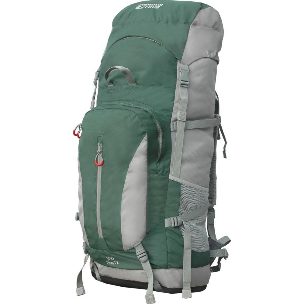 Рюкзак Nova Tour Витим 100 v2 зеленыйНедорогой туристический рюкзак для людей, только знакомящихся с азами туризма, у которых впереди еще много интересного и познавательного в общении с природой. «Витим» невесом и очень компактен в свернутом положении из-за отсутсвия жесткой подвесной системы. Вы пока не знаете пригодится ли то или иное снаряжение в планируемом походе? Возьмите все! Даже если не хватит основного отделения снаряжение можно расположить под плавающим клапаном, в объемном кармане на фронтальной части, с боку, на регулируемых стропах под дном рюкзака. Вы не испытаете неудобств с погрузкой рюкзака в поезд или автомобиль благодаря удобным транспортировочным ручкам. На концах боковых стяжек имеются липучки для закрепления излишков стропы.<br><br>Вес кг: 1.30000000