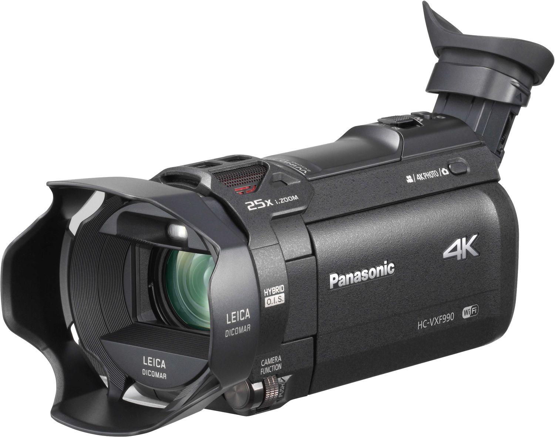 Видеокамера PANASONIC HC-VXF990 4K4K Ultra HD видеокамера HC-VXF990<br><br>Будь то фото или видео - объектив LEICA Dicomar позволит снять их в захватывающем качестве 4K и получить профессиональные результаты благодаря электронному видоискателю (EVF) и функции «Киноэффект». Вам будут доступны уникальные методы съемки с функцией беспроводной мультикамеры. В сочетании со встроенными возможностями сделать качественную съемку увиденного так, как вами задумано, стало легче, чем когда-либо.<br><br>Запечатлейте всю красоту природы с помощью компактной видеокамеры и ошеломляющего разрешения 4K. Создана для съемки впечатляющих кадров решающих моментов жизни c разрешением 4K и съемки видео профессионального качества. Сделать это теперь стало проще, чем когда-либо, благодаря высокоскоростному и высокоточному автофокусу ? реальному прорыву к профессиональной 4K-съемке для всех, которого добилась компания Panasonic.<br><br>Снимайте в любых условиях и получайте необходимый вам качественный результат. Электронный видоискатель (EVF) позволит с легкостью снимать при ярком дневном свете, помогая сохранить правильное восприятие. Механизм сдвига и наклона обеспечит гибкость для съемки из различных положений, а съемный наглазник делает процесс съемки удобным для любого глаза.<br><br>Объектив с просветленной оптикой. Помимо передачи четких изображений, этот замечательный объектив LEICA Dicomar отражает неуловимые оттенки и тона, чем так славятся объективы Leica, при минимальных засветках и ореолах.<br><br>За счет увеличенной скорости считывания во время запси, продвинутый 8 мегапиксельный BSI-сенсор эффективно подавляет искажения, чтобы обеспечить точный рендеринг сцены.<br><br>Высокоскоростной и производительный процессор Crystal Engine 4K, способен быстро и точно обрабатывать массивный объем данных 4K, уменьшая при этом шумы.<br><br>Вес кг: 0.40000000