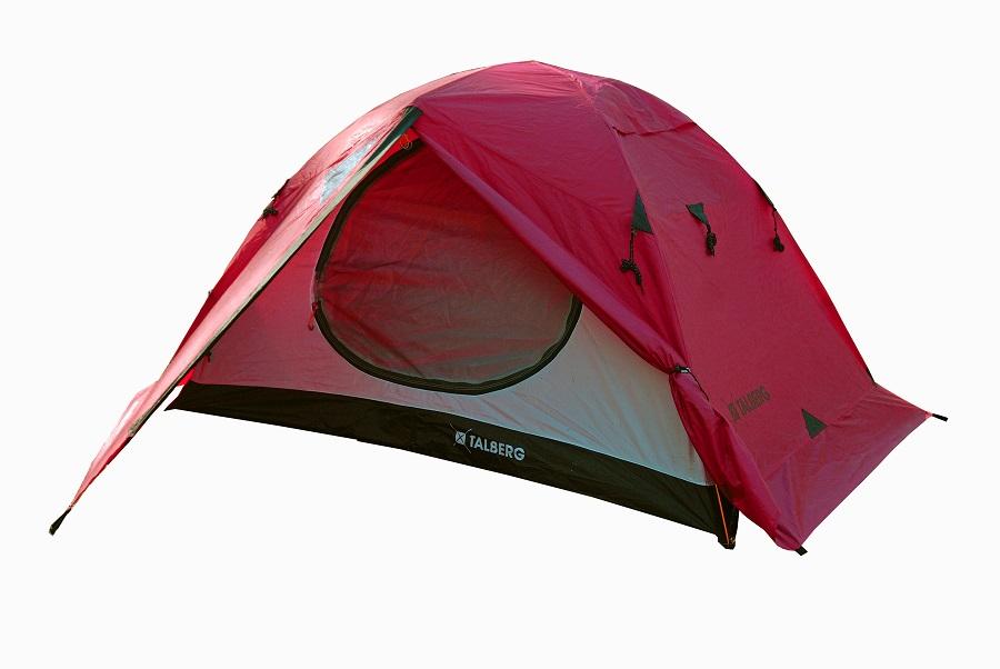 Палатка Talberg Boyard Pro 2 RedЛегкая двухслойная двухместная палатка с юбкой и двумя увеличенными тамбурами для вещей. Отличается заметной яркой красной расцветкой и повышенной влагостойкостью. Профессиональная линия Talberg. Палатки Talberg Профессиональной линии были специально разработаны для зимних походов и длительных пеших экспедиций. Основной акцент в данной серии делается на качестве материалов, высокой прочности и безупречном исполнении.<br><br><br>Оптимальная комбинация материалов по соотношению вес-прочность-надежность.<br><br>Использование высокопрочного полиэстера RipStop позволяет сделать тент палатки легким, непроницаемым для ветра и не впитывающим влагу.<br><br>Высококачественные дуги из алюминиево-магниевого сплава марки 7001-T6 практически не имеют остаточных деформаций и в состоянии выдержать любую непогоду.<br><br>Два входа обеспечивают превосходную вентиляцию и комфортный сон в теплое время года.<br><br>Палатка оборудована высококачественной мелкой противомоскитной сеткой, способной защитить даже от самой мелкой мошки.<br><br>Палатка снабжена ветрозащитной (снегозащитной) юбкой.<br><br>Все швы палатки проклеены специальной термоусадочной лентой, которая надежно защищает палатку от протеканий.<br><br>Внутри палатки предусмотрено большое количество карманов для мелочей и полка под потолком для фонарика или каких-либо вещей.<br><br>Ремнабор в комплекте.<br><br>Вес кг: 3.00000000