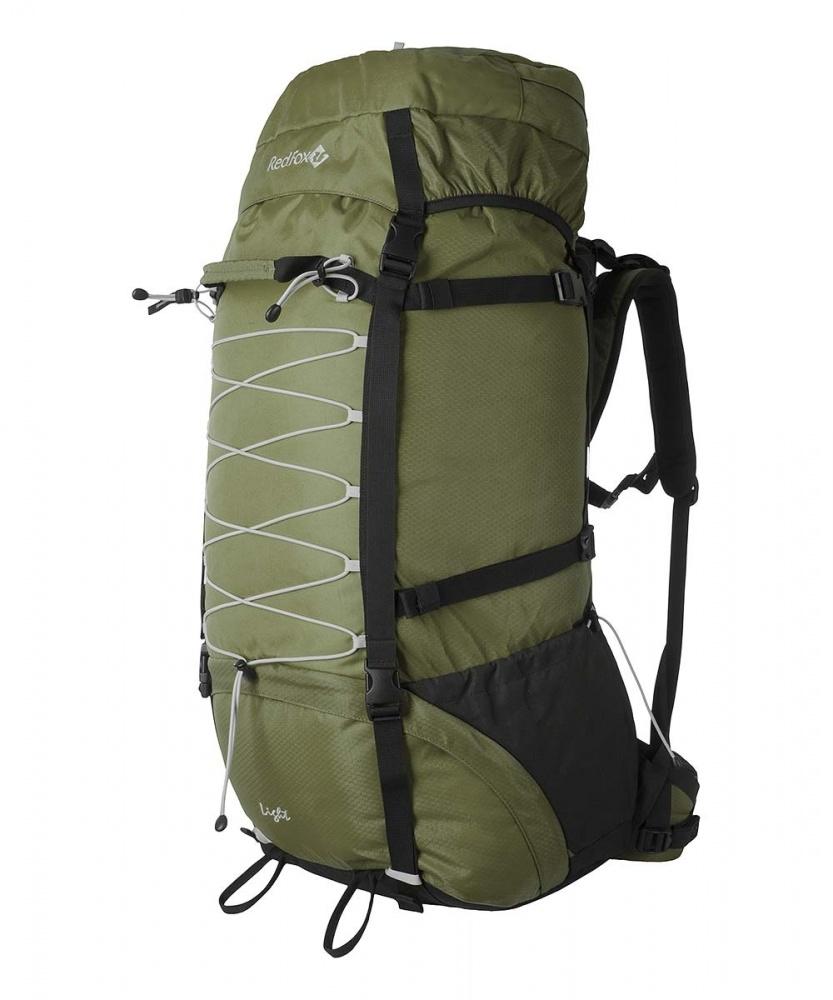 Рюкзак RedFox Light 120 green (khaki/black)Рюкзак Light 120 - классический походный рюкзак увеличенного объема.<br><br><br>подвесная система IBC<br><br>съемный поясной ремень анатомической формы<br><br>два независимых отделения<br><br>съемный клапан с карманом на молнии<br><br>боковые стяжки<br><br>крепления для ледового инструмента и трекинговых палок<br><br>дополнительная шнуровка на фронтальной панели рюкзака<br><br>два боковых кармана в нижней части рюкзака<br><br>Вес кг: 2.30000000