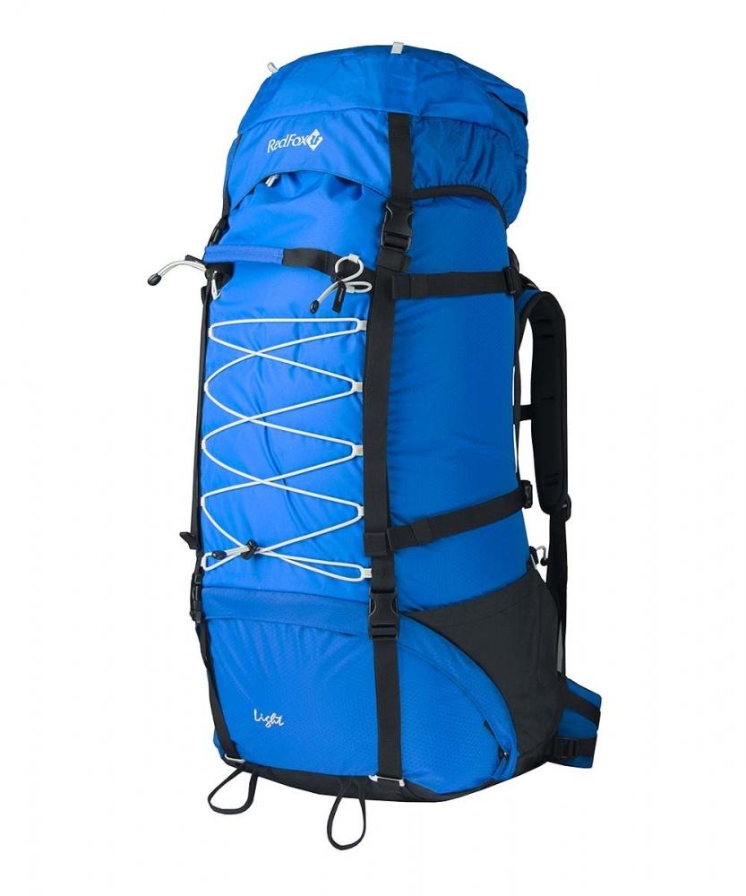 Рюкзак RedFox Light 120 blue (blue/black)Рюкзак Light 120 - классический походный рюкзак увеличенного объема.<br><br><br>подвесная система IBC<br><br>съемный поясной ремень анатомической формы<br><br>два независимых отделения<br><br>съемный клапан с карманом на молнии<br><br>боковые стяжки<br><br>крепления для ледового инструмента и трекинговых палок<br><br>дополнительная шнуровка на фронтальной панели рюкзака<br><br>два боковых кармана в нижней части рюкзака<br><br>Вес кг: 2.30000000
