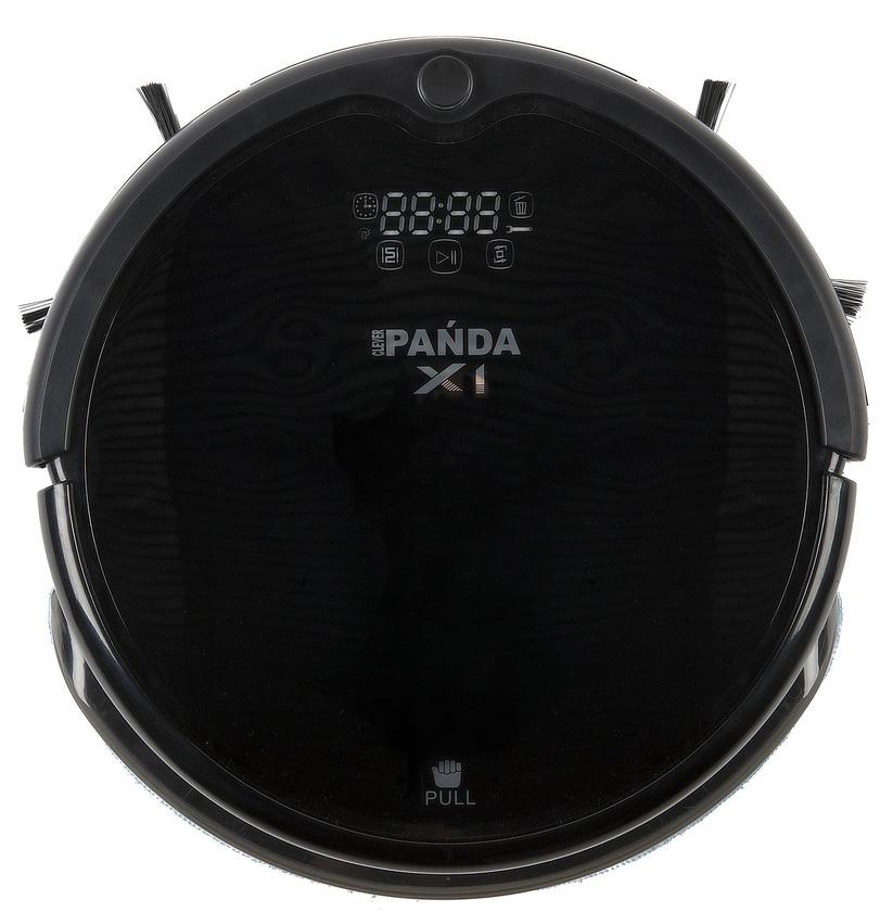 Робот-пылесос PANDA X1 BlackРобот-пылесос Panda X1 – доработанная модель PANDA x900, второй робот-пылесос в линейке, оснащенный полноценной функцией влажной уборки. В пылесосе имеется специальный контейнер для жидкости, через который она подается на моющее полотно. Одной заправки хватает в среднем на площадь 70-80 кв.м. В контейнер можно также заливать чистящие средства- это усилит эффект свежести в помещении после уборки.<br><br>Робот пылесос Panda X1 это модель 2017 года из линейки роботов пылесосов японского производителя Panda. Данная модель обладает лучшей в линейке PANDA системой ориентирования в пространстве, а также обладает ультра-фиолетовой лампой, которая способствует обеззараживанию помещений.<br><br>Купить робот пылесос Панда Panda X1 – это тоже самое, что приобрести бестселлер на рынке пылесосов. Характеристики данной модели ничем не уступают последним брэндовым новинками из линеек irobot, Samsung и LG, а по некоторым показателям и превосходят их.<br><br>Panda X1 предназначен для сухой и влажной уборки сложных многокомнатных помещений площадью до 145 кв. м.<br><br><br>Идеально чистит кафель, линолеум, ламинат, паркет, деревянные полы, ковры и ковровые покрытия.<br><br>Новейшая Ультрафиолетовая лампа, позволяет нейтрализовать вредные микробы, пылевых клещей и болезнетворные микроорганизмы (до 98%)!<br><br>Не сталкивается с мебелью и не бьется о стены и двери.<br><br>Аккумулятор повышенной емкости позволяет устройству производить уборку длительностью до 120 минут на одном заряде батареи.<br><br>Измененная конструкция колес и отсутствие центральных щеток способствуют более легкому перемещению робота через пороги и иные препятствия высотой до 2,5 см, а также позволяют работать на коврах с удлиненным ворсом (2-4 см).<br><br><br>Новый Panda X1 отличает ультрасовременный дизайн с сенсорной панелью управления на корпусе робота-пылесоса и декоративной подсветкой. Во время работы устройства сенсорные кнопки на корпусе подсвечиваются, сигнализируя о режимах и сос
