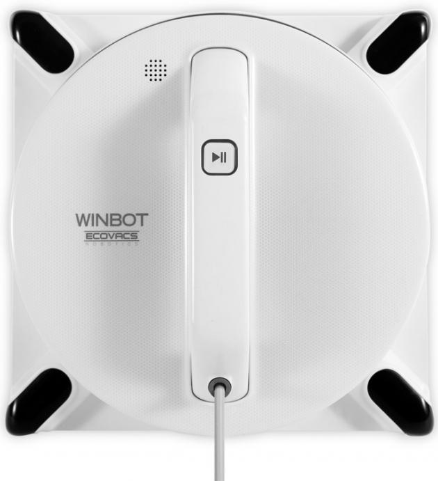 Робот Winbot W950 для мойки оконСкажите Прощай! старым способам мойки окон и дайте WINBOT сделать свою работу! Наши удостоенные наград роботы, с их системой очистки окон и запатентованной технологией безопасного крепления к стеклу легко справятся со своей задачей. Пусть ваши окна сверкают чистотой! WINBOT подходит для разных видов стеклапакетов, для классического и безрамного остекления, тонированных и цветных стёкол. Всё, что вам нужно — распылить немного чистящего раствора на стекло, поместить на него робота, нажать старт и ... наслаждаться видом из окна!<br><br>WINBOT — не раз был признан победителем в категории роботов мойщиков окон за его запатентованные технологии и инновации. Кроме того, WINBOT — уникальный продукт в индустрии домашней робототехники, разработанный эксклюзивно компанией Ecovacs Robotics<br><br>Больше не нужно лезьт на стремянку или балансировать на подоконнике, пытаясь дотянуться до каждого уголка. Присоедините удлинитель притания из комплекта WINBOT, чтобы увеличить его длину до 5 метров. Бросьте, наконец, тряпку, ведро и швабру: пусть это делает WINBOT. У вас есть дела и поинтереснее.<br><br>Выбросьте ваши старые приспособления для мытья окон, и доверьте это дело роботу. Уникальная 4-этапная система очистки, особенностью которой является салфетка из микрофибры, окружающая вакуумную секцию со всех сторон, обеспечивает максимальную эффективность чистки при оптимальном размере поверхности.<br><br>Скажите Да мощному всасыванию и Нет шумной уборке! W90-й — самый тихий робот мойщик окон из линейки WINBOT. Он настолько тих, что вы услышите собственные мысли!<br><br>WINBOT 950 использует собственную систему «SMART DRIVE», которая позволяет разворачивать чистящий блок на 90 градусов, в то время как чистящая салфетка остаётся неподвижной! Благодаря этому, WINBOT W950 может свободно перемещаться по стеклу, выбирая наиболее эффективную траекторию. Эффективность уборки и покрываемая поверхность значительно выше!<br><br>WINBOT 950 автоматически очищает об