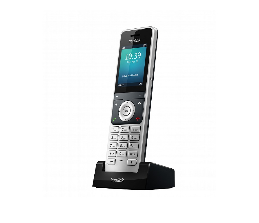 Дополнительная трубка Yealink W56HYealink W56H — дополнительная трубка для комплекта (базовая станция + трубка) SIP-телефона Yealink W56P.<br><br><br>Не более 2-х одновременных разговоров<br><br>Интерком, автоответ<br><br>Удержание, трансфер<br><br>3-х сторонняя конференция<br><br>Ожидание вызова, отключение микрофона, DND (не беспокоить)<br><br>Повторный набор последних 20-ти набранных номеров<br><br>Переадресация (всегда/занятости/не ответу)<br><br>Быстрый набор, голосовая почта<br><br>Локальная записная книга на 100 контактов<br><br>Удаленная записная книга XML<br><br>Поиск по записным книгам, черный список<br><br>Журнал вызовов (исходящие/пропущенные/принятые)<br><br>Способы вызова: Proxy и peer-to-peer (по IP-адресу)<br><br>Сброс к настройкам по умолчанию, перезагрузка<br><br>Блокировка клавиатуры, экстренный вызов<br><br>Анонимный вызов<br><br>Вес кг: 0.50000000