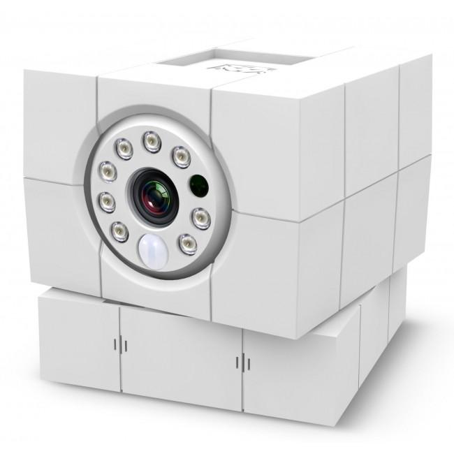 """Облачная видеокамера iCam HDОблачная видеокамера iCam HD<br><br><br>Угол обзора 360°. Вращение камеры по горизонтали и ее наклон в вертикальной плоскости позволяют увидеть все, что вокруг нее происходит.<br><br>Для записи видео-наблюдения бесплатно предоставляется 15 Гб в """"облаке"""" Google. Вы можете позже просмотреть и скачать записи.<br><br>Даже в полной темноте iCam покажет вам четкое видео - благодаря инфракрасной подсветке, не заметной для человеческого глаза.<br><br>В случае срабатывания датчиков движения или звука вы получите сообщение в любой точке мира. Камера пошлет вам фото происходящего. А кликнув на него, вы сможете просмотреть по видео, что происходит в помещении и принять меры.<br><br>Поговорите с близкими, находящимися далеко. Или спугните забравшегося к вам злоумышленника, заговорив с ним.<br><br>У каждого есть свои секреты. В любой момент выключите камеру одним нажатием<br><br>Передача видео и аудио камерой защищена кодом на 256 bit. Это один из самых мощных способов защиты. Для взлома такого шифра современному компьютеру нужно более 1.000 лет непрерывной работы.<br><br>Вес кг: 0.30000000"""