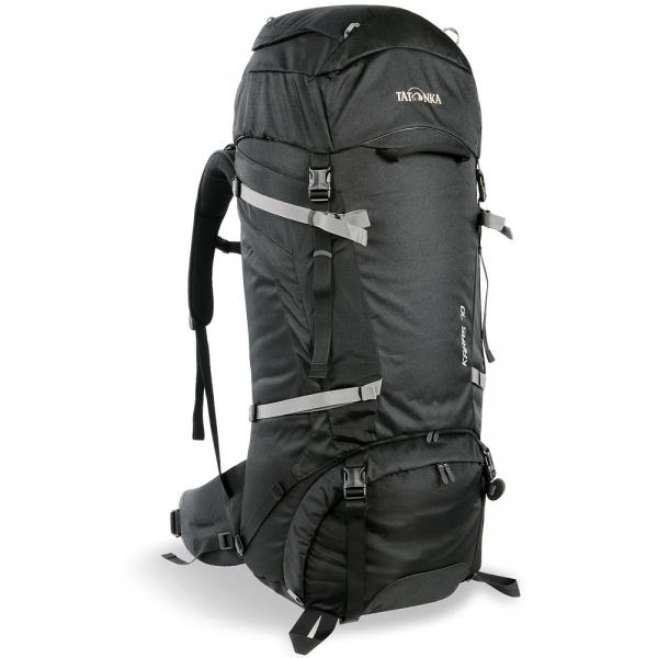 Рюкзак Tatonka Karas 70+10 blackНадежный рюкзак для трекинга с базовыми функциями. Tatonka Karas 70+10 имеет достаточный объём, чтобы вместить в себя необходимые вещи для непродолжительного похода или путешествия в другой город. Рюкзак изготовлен из проверенных, прочных материалов по самым высоким стандартам. Регулируемая Y1 несущая система гарантирует превосходный уровень комфорта при переноске в диапазоне нагрузки до 20 кг.<br><br>Вес кг: 2.45000000