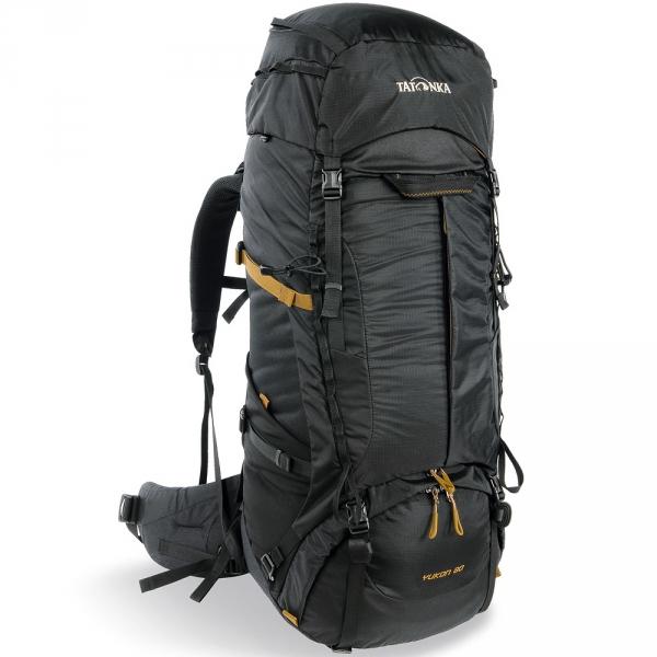 Рюкзак Tatonka Yukon 60+10 blackРюкзак Tatonka Yukon 60+10 - это идеальный выбор для широкого спектра туризма. Рюкзак оптимизирован для нагрузок до 25 кг и предлагает идеальное сочетание легкости, прочности и производительности. Вес и эффективность v2 - это несущая система, которая на протяжении многих лет получила высокие награды, была улучшены для сезона 2017, с одной стороны, за счет использования более легких материалов, а с другой с трехмерным поясным ремнем. Удобный вход по центру рюкзака даёт возможность гораздо проще произвести укладку. Дно рюкзака изготовлено из прочного материала Cordura.<br><br>Вес кг: 2.40000000