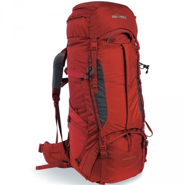 Рюкзак Tatonka Yukon 60+10 Women redbrownЖенский рюкзак Tatonka Yukon 60+10 Women - это идеальный выбор для широкого спектра туризма. Рюкзак оптимизирован для нагрузок до 25 кг и предлагает идеальное сочетание легкости, прочности и производительности. Вес и эффективность v2 - это несущая система, которая на протяжении многих лет получала отличные награды, была улучшены для сезона 2017, с одной стороны, за счет использования более легких материалов, а с другой трехмерным поясным ремнем. Удобный вход по центру рюкзака даёт возможность гораздо проще произвести укладку. Дно рюкзака изготовлено из прочного материала Cordura.<br><br>Вес кг: 2.40000000
