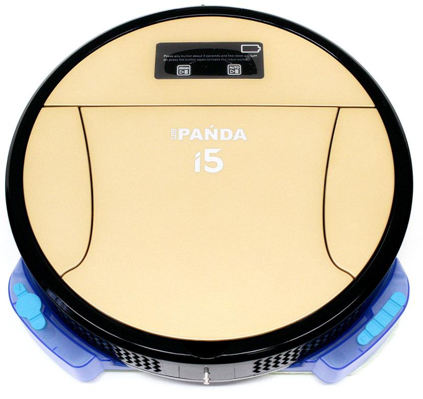 Робот-пылесос PANDA i5 GoldPANDA i5 модель нового поколения от PANDA ROBOTICS inc. Он совмещает в себе мощность, ультратонкий корпус, улучшенные алгоритмы навигации и картографии, технологию глубокой чисткии великолепный лаконичный дизайн. Новый бесколлекторный турбо-двигатель значительно мощнее. Идеально подходит для работы на ковровых покрытиях, и как и все роботы PANDA легко справляются со сбором шерсти домашних питомцев.<br><br><br>Модель 2017 года<br><br>Улучшена функция смачивания тряпки из микрофибры. Тряпка намокает быстрее и по большей площади. Комбинированная микрофибра.<br><br>Автоматический возврат на базу. Улучшена конструкция и дизайн базы.<br><br>Мощность – 85 Вт<br><br>Самый мощный на рынке роботов аккумулятор – li-Pol 7000 mAh. 1000 циклов заряд-разряд. 280 квадратных метров уборки. 3-4 часа работы.<br><br>Новейшая система навигации и картографии. Активная видеокамера для навигации, видеозвонков и наблюдения. Эхолот для предотвращения столкновений.<br><br>Подключение к сети Wi-Fi. Управление и контроль со смартфона.<br><br>Ультратонкий корпус. Толщина всего 6 см.<br><br>Тройная система фильтрации. HEPA-фильтр для очистки воздуха, Угольный фильтр и фильтр тонкой очистки.<br><br>До 240 минут автономной работы<br><br>Более чувствительный пульт управления. Увеличен радиус сигнала.<br><br>Программирование уборки по дням недели. -<br><br>Новые мозги и новое программное обеспечение. Робот движется змейкой, запоминает расположение предметов и строит карту помещения.<br><br>Датчик заполнения пылесборника<br><br>Автоматическая регулировка мощности всасывания. Робот увеличивает мощность самостоятельно при сильном запылении.<br><br>Новый, современный дизайн.<br><br>Удобно вытаскивать контейнер.<br><br>5 программ уборки<br><br>гарантия 24 месяца.<br><br><br><br><br>Подробнее читайте в нашем обзоре на роботы-пылесосы Panda<br>