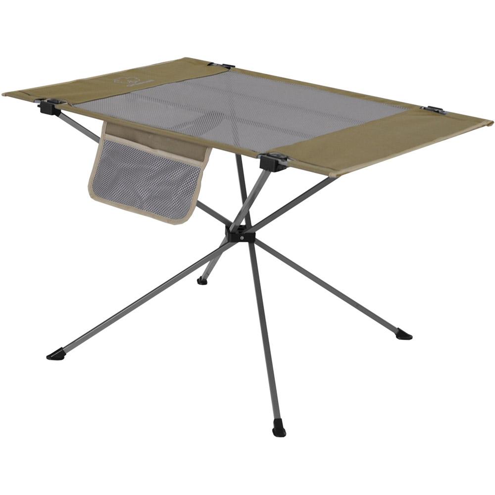 Стол Greenell Эйр FT-14Впечатляющая компактность в сложенном виде и простота сборки позволит столу найти постоянно место в сумке снаражения или в багажнике.<br><br>Вес кг: 2.40000000