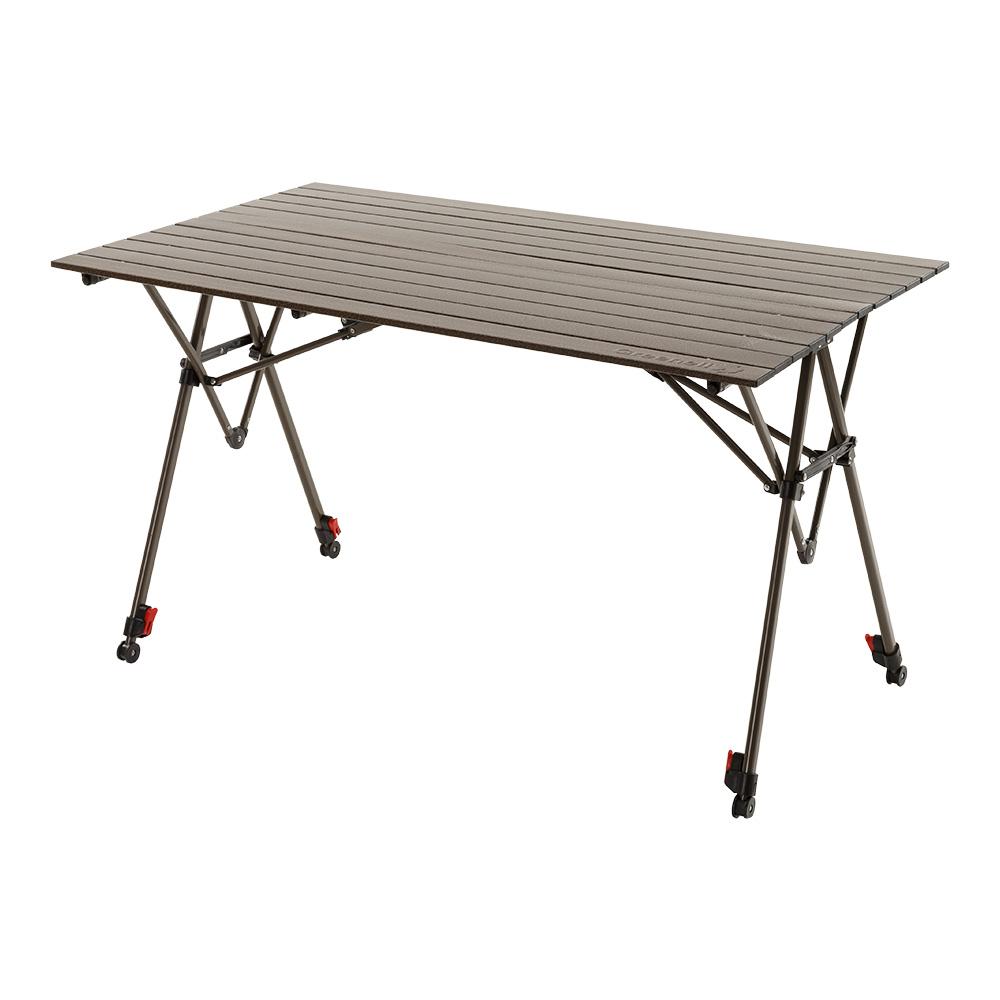 Стол Greenell Элит FT-17Складной стол с большим запасом прочности. Неразъемная конструкция не оставит лишних деталей. Индивидуальная регулировка длины каждой ножки позволяет устанавливать стол на сложной поверхности.<br><br>Вес кг: 7.40000000
