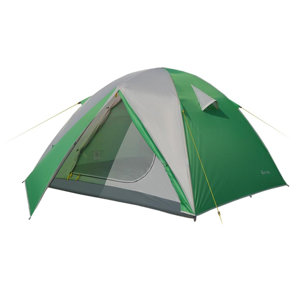 Палатка Greenell Гори 2 V2 трекинговаяТрекинговая палатка Greenell Гори 2 V2 имеет два входа и два тамбура. Проточная вентиляция.<br>