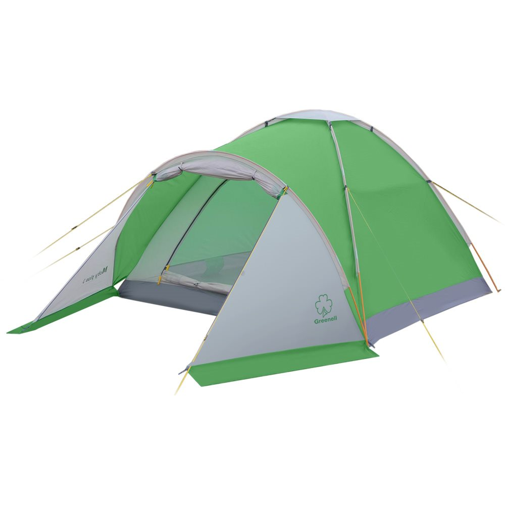 Палатка Greenell Моби 3 плюсПалатка Alaska Moby 3 плюс. Простота конструкции палатки позволяет бысто ее установить и снять.<br><br>Есть тамбур для вещей. Пол имеет высокий порог и выполнен из полистера с PU 3000 , что обеспечивает хорошую защиту от влаги и снижает вес изделия. Собранную палатку легко перемещать с места на место, а в случае необходимости можно закрепить с помощью оттяжек.<br><br>Вес кг: 2.50000000