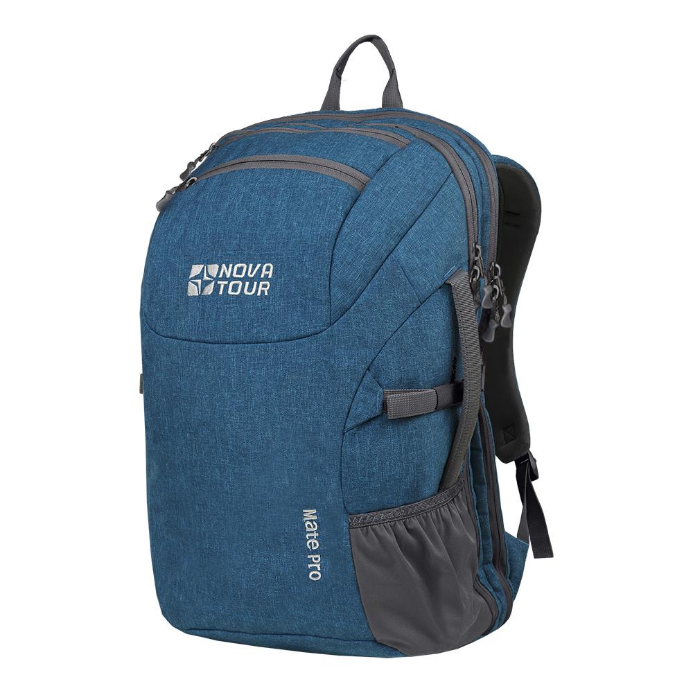 Рюкзак Nova Tour Мэйт PRO 40 синийВместителный стильный городской рюкзак. Хорошо подойдет для командировок, для большей мобильности. Большой основной отдел, карман вдоль спины для ноутбука и документов. Небольшой кармашек для мелочи. На одной из сторон удобная ручка для транспортировки с другой карман для бутылочки.<br><br>Вес кг: 1.20000000