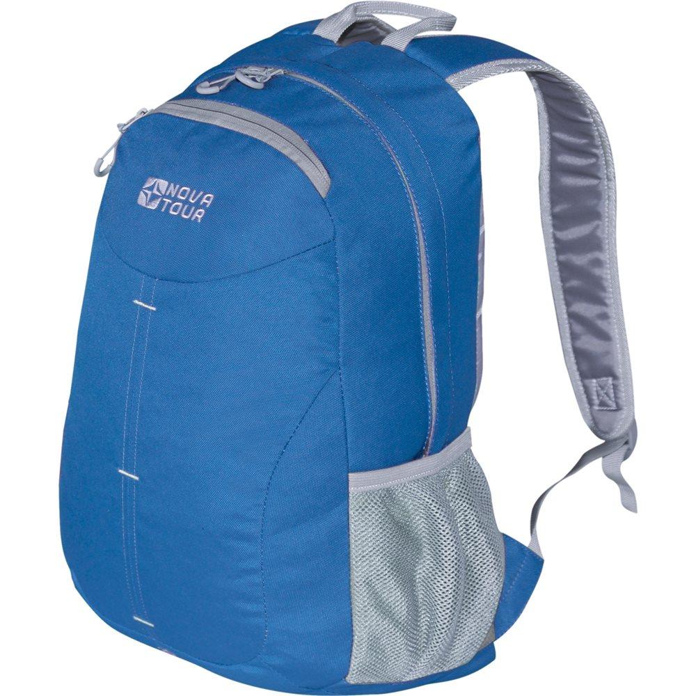 Рюкзак Nova Tour Симпл 20 синийПростой городской рюкзак Nova Tour Симпл 20.<br><br>Облегченный городской рюкзак с одним основным отделом, небольшим фронтальным карманом и боковыми карманами из сетки<br><br>Вес кг: 0.30000000