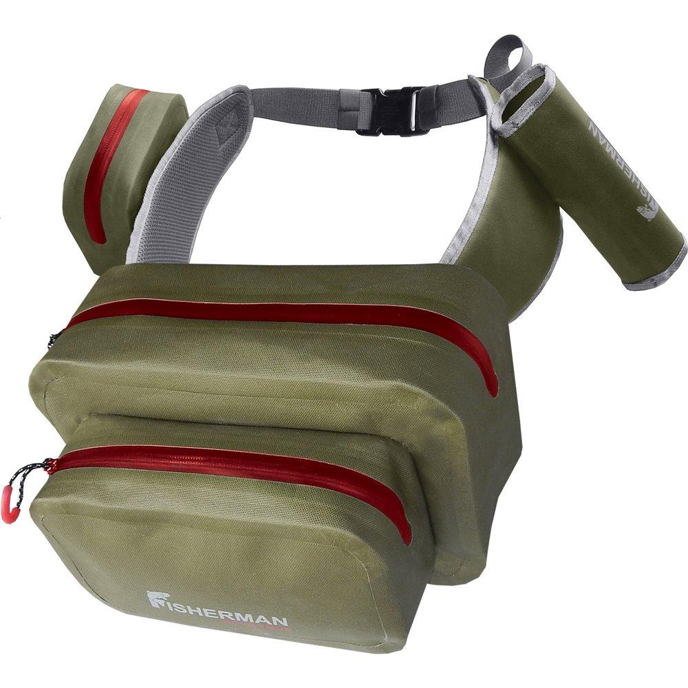 Сумка Nova Tour Нова PROФункциональная влагозащищенная поясная сумка&amp;nbsp; Nova Tour Нова PRO. Отлично подойдет для любителей забродной и активной рыбалки! В сумке есть два больших основных отделения, которые без труда вместят все необходимые коробочки с приманками, одно дополнительное отделение под мелочи, которые должны быть всегда под рукой, а также RODHOLDER-держатель для спиннинга, чтобы во время замены приманки, ваши руки были свободны!<br><br>Вес кг: 0.50000000