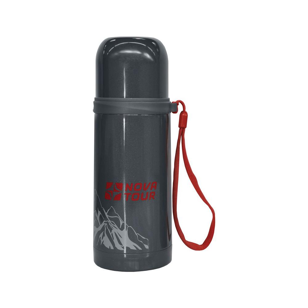 Термос Nova Tour Соло 350Вакуумный термос изготовлен из нержавеющей хром-никелевой стали с высокими теплоизоляционными свойствами. Крышка термоса облицована изнутри пищевым пластиком и может использоваться в качестве чашки. Пробка с кнопкой для напитков. Пробка позволяет наливать напитки, нажав на кнопку-клапан. Пробка герметична, очень надежна и проста в эксплуатации кнопка выполняет дополнительную функцию клапана, выравнивающего давление.<br><br>Вес кг: 0.34000000