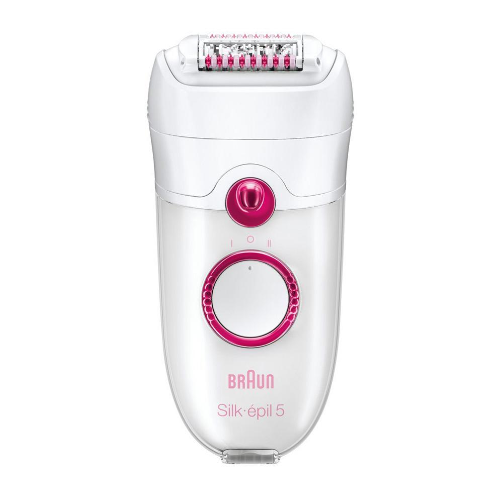 Эпилятор Braun 5329 Silk-epil 5Эпилятор Silk-epil 5 power. Безостановочная энергия для непрерывно глакой кожи. Эффективная эпиляция для гладкой кожи надолго.<br><br>Больше не нужно ждать, пока волоски на теле отрастут до тех пор, чтобы их можно было удалить воском. Технология Braun Close-Grip удаляет даже самые короткие волоски размером с песчинку (0,5 мм). Больше никаких перерывов и никаких хлопот.<br><br>Особенности<br><br><br>Технология Close-Grip. 40 пинцетов удаляют даже самые короткие волоски — размером с песчинку (0,5 мм).<br><br>Массажная система высокой частоты массирует кожу, обеспечивая комфорт эпиляции.<br><br>Два режима скорости обеспечивают адаптацию к типу кожи и процедурам по уходу за собой.<br><br>Плавающая бреющая головка плавно повторяет контуры тела и обеспечивает лучший контакт с кожей.<br><br><br>Насадки дополнительно увеличивают универсальность эпилятора Braun Silk-epil 5 Power.<br><br><br>Бреющая головка + насадка-триммер. Преврати свой эпилятор в полноценную электробритву или подравнивай волосы на любых участках тела.<br><br>Насадка для точечного удаления волос<br><br>Насадка для лица идеально подходит для удаления нежелательных волос на лице.<br><br>Насадка Efficiency обеспечивает максимальный контакт с кожей для более быстрой эпиляции.<br><br><br>Простая очистка под проточной водой.<br><br>Система подсветки SmartLight позволяет увидеть даже самые тонкие волоски, что обеспечивает сверхтщательный результат. Ты больше не пропустишь ни единого волоска.<br><br>Специальная щеточка для лица от компании Braun удаляет макияж и очищает поры — результат в 6 раз превосходит ручное очищение. Кроме того, микровибрации превосходно отшелушивают и очищают кожу. 100 %-ая водонепроницаемость для комфортного использования под душем.<br>