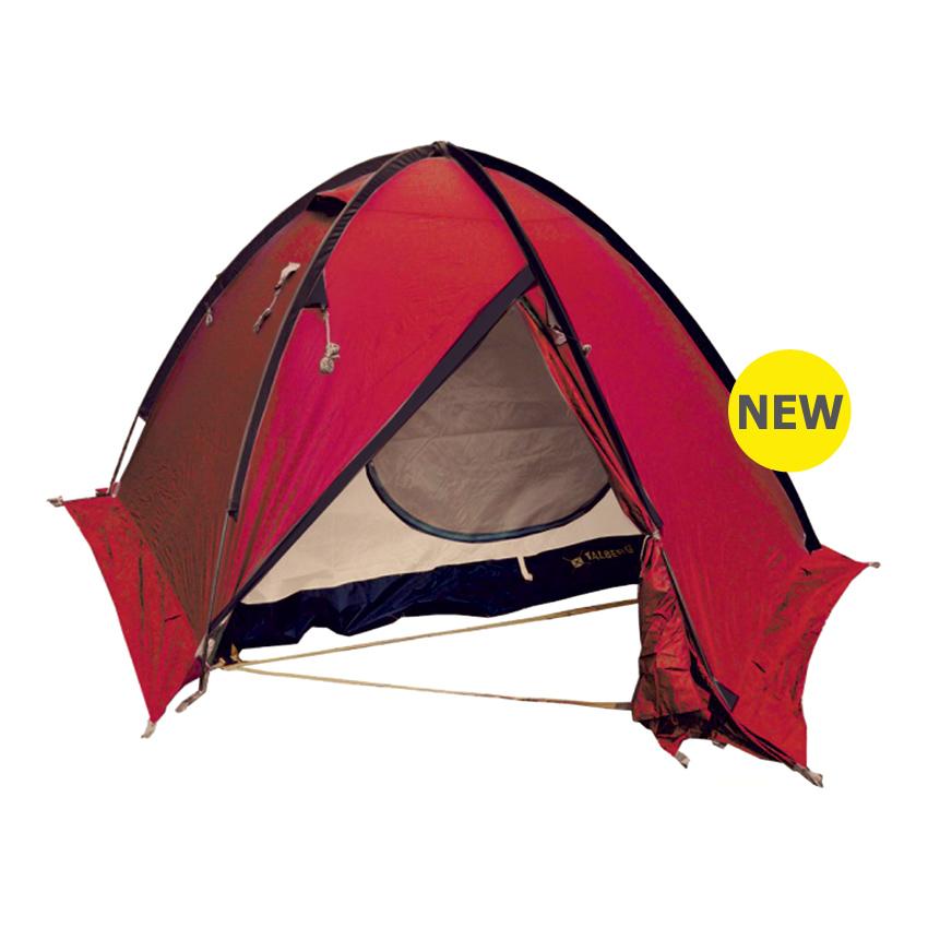 Палатка Talberg Space pro 2 RedДвухслойная двухместная палатка с юбкой, двумя объемными тамбурами для вещей и внешним каркасом для быстрой и легкой установки. Отличается заметной яркой красной расцветкой и повышенной влагостойкостью. Профессиональная линия Talberg. Палатки Talberg Профессиональной линии были специально разработаны для зимних походов и длительных пеших экспедиций. Основной акцент в данной серии делается на качестве материалов, высокой прочности и безупречном исполнении.<br><br><br>Оптимальная комбинация материалов по соотношению вес-прочность-надежность.<br><br>Использование высокопрочного полиэстера RipStop позволяет сделать тент палатки легким, непроницаемым для ветра и не впитывающим влагу.<br><br>Высококачественные дуги из алюминиево-магниевого сплава марки 7001-T6 практически не имеют остаточных деформаций и в состоянии выдержать любую непогоду.<br><br>Два входа обеспечивают превосходную вентиляцию и комфортный сон в теплое время года.<br><br>Палатка оборудована высококачественной мелкой противомоскитной сеткой, способной защитить даже от самой мелкой мошки.<br><br>Палатка снабжена ветрозащитной (снегозащитной) юбкой.<br><br>Все швы палатки проклеены специальной термоусадочной лентой, которая надежно защищает палатку от протеканий.<br><br>Внутри палатки предусмотрено большое количество карманов для мелочей и полка под потолком для фонарика или каких-либо вещей.<br><br>Ремнабор в комплекте.<br><br>Вес кг: 3.40000000