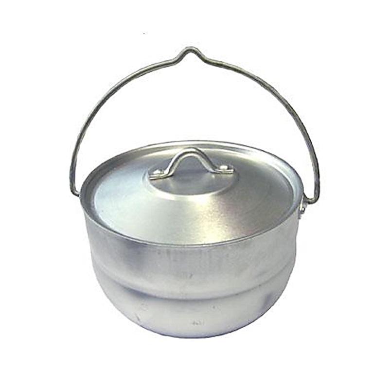 Котел Tramp 19045 4,5л алюминиевыйТуристический штампованный котел с крышкой TEHNOLIT 4.5 л предназначен для приготовления пищи на открытом огне костра или газовой горелки. Это легкий, компактный и прочный котел, выполненный из термостойкого листового алюминия, который не окисляется даже при длительной эксплуатации, и имеет отличные антипригарные свойства. Корпус котла обладает высокой теплопроводностью, что позволяет котлу быстро прогреваться.<br>