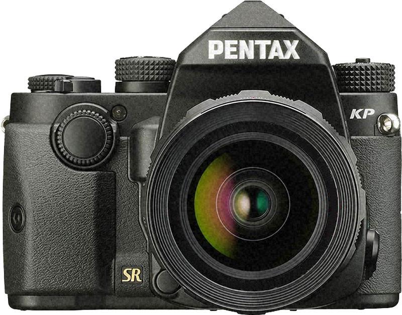 Фотоаппарат Pentax KP kit 18-135 WR +3 рукоятки Black/Silver зеркальныйБескомпромиссный функционал и качество в ультракомпактном прочном защищенном корпусе<br><br><br>Ультракомпактный пыле-влагозащищенный корпус из магниевого сплава<br><br>КМОП матрица 24 мегапикселя<br><br>Инновационная функция съемки со сверхвысоким разрешением Pixels Shift Resolution<br><br>Встроенная 5 –осевая система стабилизации Shake Reduction с эффективностью 5 EV<br><br>Возможность съемки с чувствительностью до ISO 819 200<br><br>Автофокус на основе модуля SAFOX 11, 27 датчиков, чувствительность -3 EV<br><br>Гибкая настройка органов управления, сменные рукоятки корпуса<br><br>Видоискатель pro класса: 100% покрытие кадра, увеличение 0.95X, сменные экраны<br><br>Встроенный Wi-Fi модуль для управления камерой и передачи снимков<br><br>Удобный откидной 3 ЖК-монитор<br><br>Вес кг: 1.00000000