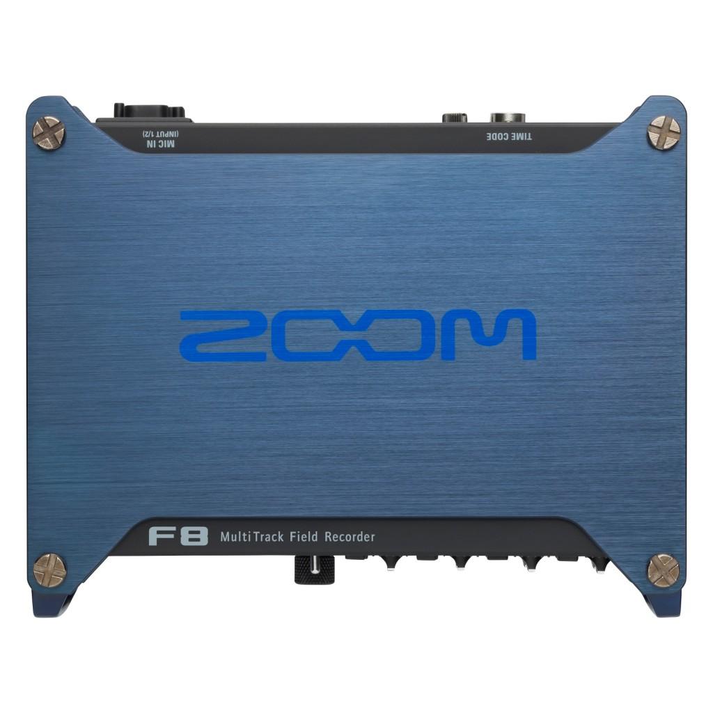 Рекордер Zoom F8Портативный рекордер Zoom F8: Современное решение для кинопроизводства и звукового дизайна.<br><br>Профессиональный портативный аудио рекордер Zoom F8 создан специально для серьезных звуковых дизайнеров и кинорежиссеров. Это устройство позволяет записывать аудио в невероятно высоком качестве, благодаря 8-ми входам, 10-трековой записи, преампам с низким шумом и поддержкой аудио с разрешением 24-бит/192 кГц.<br><br>F8 оснащен лучшими на сегодняшний момент предусилителями, которые позволяют обеспечить невероятно низкий порог уровня шума (-127 дБ). Кроме того, в вашем распоряжении высокое усиление до 75 дБ и +4 дБ для линейных входов.<br><br>Аудио рекордер F8 может записывать аудио разрешением до 24-бит/192 кГц и оснащен встроенными ограничителями для защиты от перегрузки. Ограничение может применяться ко всем восьми каналам одновременно и на максимальном разрешении. Вы также сможете установить предельное значение ограничителя в 10 дБ и отрегулировать такие параметры, как атака (attack), восстановление (release) и порог (threshold)<br><br>Цифровые данные о времени записываются рекордером F8 по современной технологии. Для этого используется точный осциллятор, который генерирует адресно-временной код c погрешностью, не превышающей 0.2 миллионной доли. Благодаря этому, вы сможете синхронизировать ваше аудио и видео с математической точностью.<br><br>F8 поддерживает все стандартные форматы тайм-кода как с пропуском кадров, так и без пропуска. Кроме того, он может синхронизироваться с временным кодом, который предоставляется внешним устройством. Вход и выход представляют собой стандартные BNC-разъемы, что позволяет подключить его практически к любому оборудованию.<br><br>Рекордер Zoom F8 не только богат функциями и гибкими настройками, но еще и невероятно компактен. Нигде больше вы не найдете столь небольшой портативный рекордер с восемью совмещенными разъемами XLR. Сам рекордер весит чуть меньше килограмма (без батареек), а его алюминиевый корпус обеспечивае