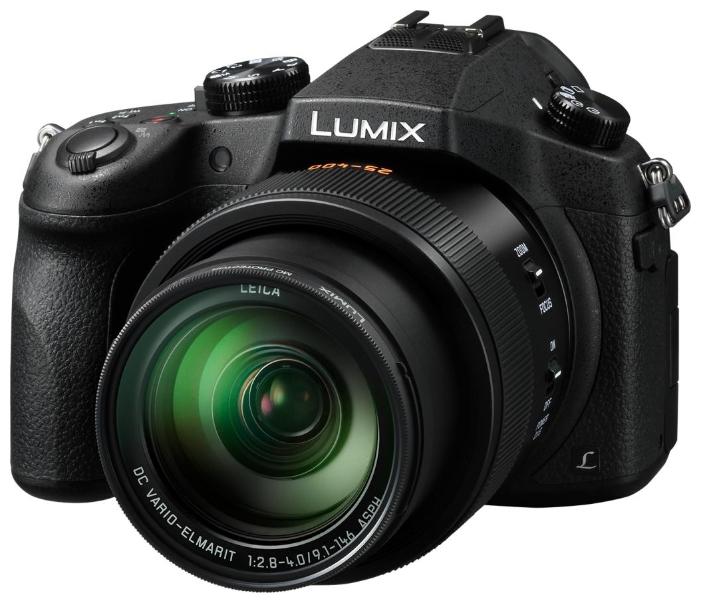 Фотоаппарат Panasonic Lumix DMC-FZ1000 компактныйФлагманская полупрофессиональная фотокамера с потрясающим качеством изображения<br><br>Великолепные снимки, сделанные с помощью большого 1-дюймового сенсора, и новый объектив передают бесконечную глубину и солнечное тепло природы. 16-кратный оптический зум этой камеры поможет снять все — от маленьких птичек на ветках деревьев до животных на горизонте. Вы можете фотографировать или снимать видео в сверхвысоком разрешении 4K. Камера DMC-FZ1000 — это все, что вам нужно для съемки мира вокруг вас во всей его естественной красоте.<br><br>Эффект красивого размытия в зоне расфокусировки<br><br>Великолепие камеры DMC-FZ1000 связано с ее способностью передавать тончайшие нюансы и красоту окружающего мира. Специально разработанный объектив LEICA DC VARIO-ELMARIT имеет 5 асферических линз, изготовление которых стало возможным благодаря уникальной технологии отливки асферических линз компании Panasonic. В сочетании с большом сенсором MOS этот объектив позволяет снимать с небольшой глубиной резкости и выразительным эффектом размытия заднего плана.<br><br>Впервые у вас есть возможность снимать видео в формате 4K*. Насладитесь реалистичным изображением и плавностью движения в высоком разрешении. Добавьте реалистичное звучания аудиозаписи с помощью направленного стереомикрофона (DMW-MS2**) с возможностью настройки записи звука в соответствии с условиями съемки. Еще больше возможностей вы получите при переходе на ручное управление в режиме Creative Video для создания впечатляющей замедленной видеосъемки в формате Full-HD 100 к/с***. * Для компактной камеры по состоянию на 12 июня 2014 г. Максимальное время записи видео в формате 4K составляет 29 минут 59 секунд. Для записи видео в формате 4K используйте карту памяти UHS класса скорости 3.<br><br>В любой момент вы будете готовы к съемке неповторимого кадра. Благодаря специальному линейному приводу фокусировки и новой технологии DFD (глубина из расфокусировки) при обычной автофокусировк