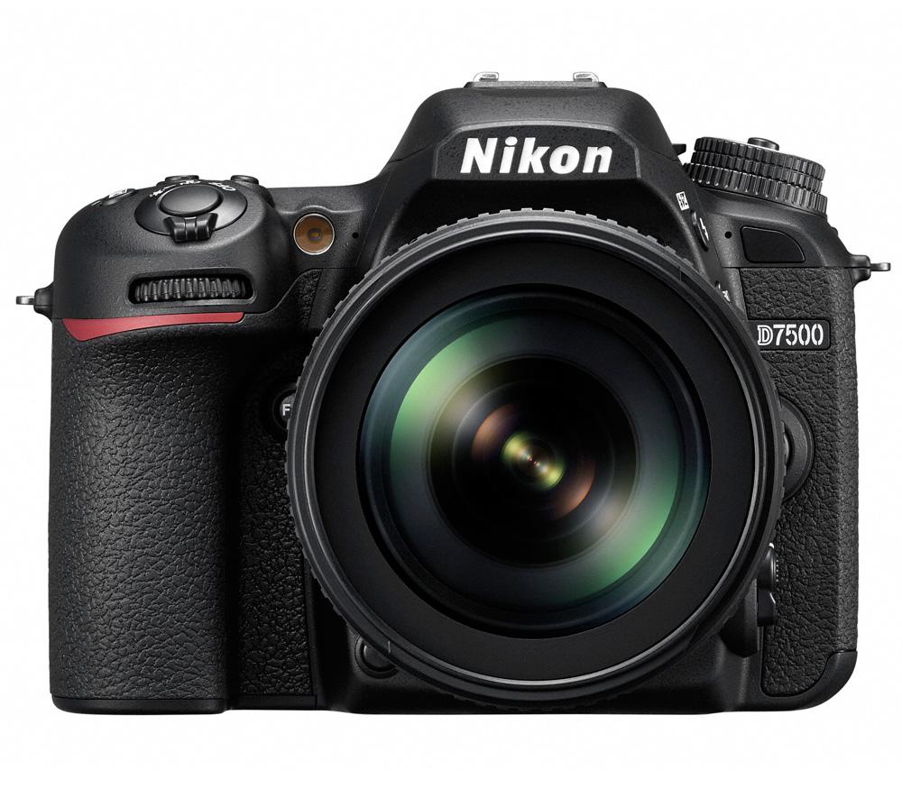 Фотоаппарат Nikon D7500 Kit 18-105 VR зеркальныйПогоня за идеальным снимком может увести вас в любые дали. Вашей надежной спутницей в этом путешествии станет мощная и быстрая фотокамера D7500, обладающая широкими возможностями связи. Запечатлейте всю красоту мира благодаря превосходному качеству изображения формата DX, унаследованному от флагманской модели Nikon D500.<br><br>Погоня за идеальным снимком может увести вас в любые дали. Вашей надежной спутницей в этом путешествии станет мощная и быстрая фотокамера D7500, обладающая широкими возможностями связи. Запечатлейте всю красоту мира благодаря превосходному качеству изображения формата DX, унаследованному от флагманской модели Nikon D500.<br><br>Фотокамера D7500 создает четкие изображения с высокой детализацией и богатыми тональными градациями. Вы оцените исключительно точное распознавание объектов съемки и превосходное качество изображения даже при высоких значениях чувствительности ISO. Качество видеороликов в формате 4K/UHD впечатляет. А с помощью встроенной системы Picture Control можно с легкостью создавать фотографии и видеоролики, соответствующие вашему творческому стилю.<br><br>Быстрая система обработки изображений Nikon EXPEED 5 гарантирует исключительное качество изображений во всем диапазоне чувствительности ISO. Количество мелких шумов существенно снизилось, и даже кадрированные изображения, снятые при высоких значениях ISO, сохраняют свое качество. С помощью настройки Hi-5 можно увеличить чувствительность до эквивалента 1 640 000 единиц ISO, что позволяет работать практически в полной темноте.<br><br>Сочетание 180K-пиксельного датчика RGB для замера экспозиции и улучшенной системы распознавания сюжетов гарантируют получение удачного кадра даже при съемке небольших или быстро движущихся объектов. При съемке высококонтрастных сюжетов новый метод замера экспозиции по ярким участкам отдает приоритет ярчайшим элементам кадра, позволяя избежать пересвеченных изображений.<br><br>Система АФ с 15 центральными