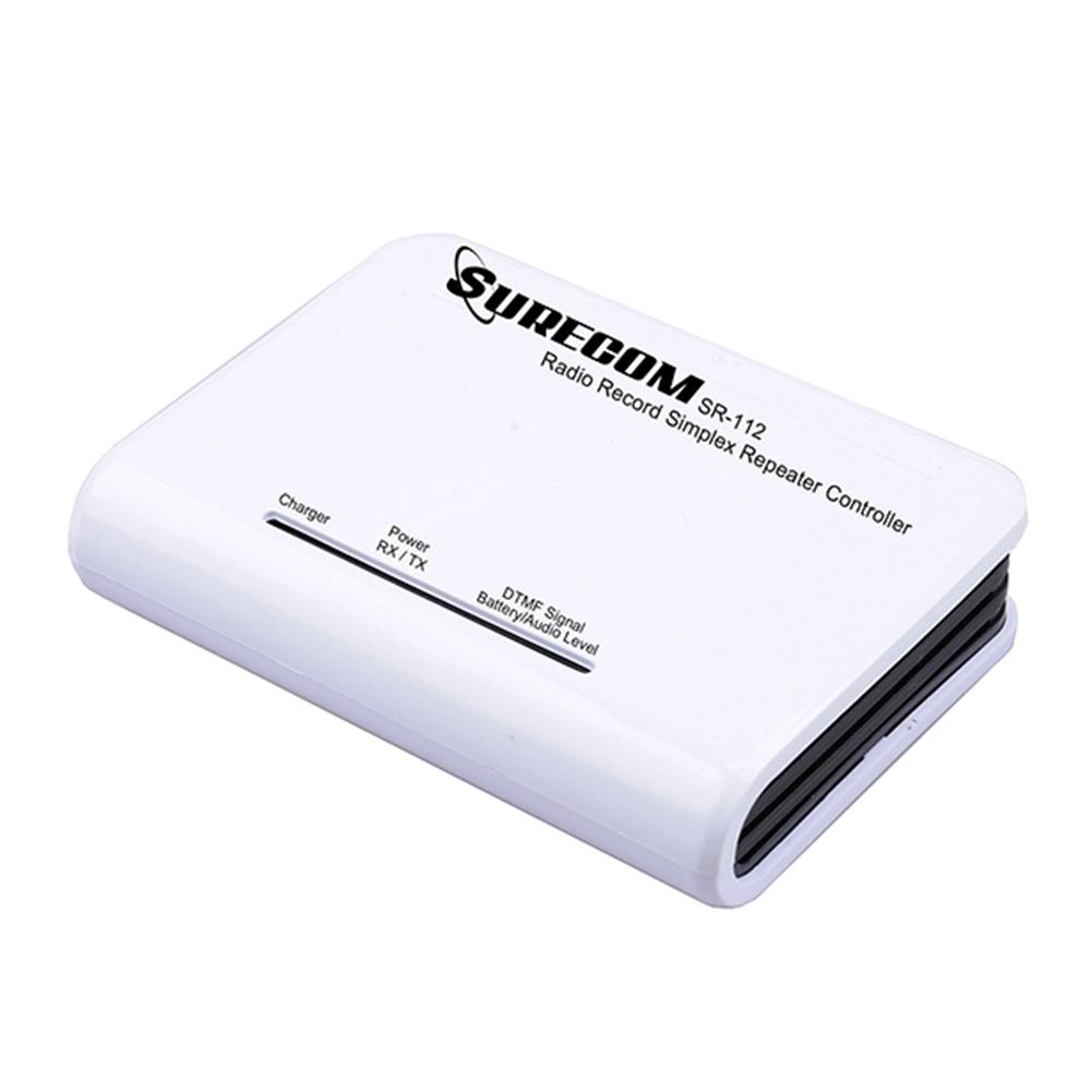 Эхо-репитер Surecom SR-112 DTMF управления радиостанцийСимплексный ретранслятор (эхо-репитер) с готовым интерфейсом под портативные и автомобильные радиостанции Kenwood и прочие с таким же интерфейсом.<br>