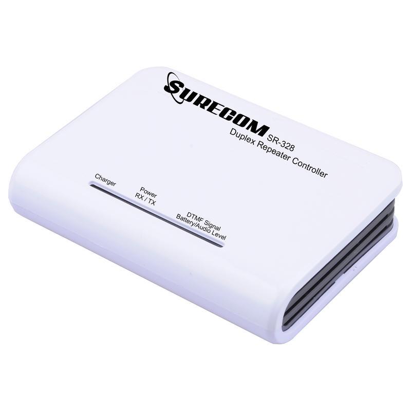 Контроллер Surecom SR-328 DTMF управления радиостанцийSR-328 является многофункциональным устройством, которое подключается к любой портативной или мобильной радиоостанции.<br><br>Этот радиоретранслятор дуплексной связи прост в эксплуатации и экономически эффективный имеет весьма гибкую платформу для создания би-направленной группы двусторонней связи SR-328 имеет 2 входа аудио портов и, они используются для подключения к мобильным и портативным радиостанциям.<br><br>Функция DTMF- дистанционное управления с защитой паролем доступа. Пользователь может управлять ретранслятором ВКЛ или ВЫКЛ дистанционно DTMF. Работает С большинством популярных портативных радиостанций. Светодиодный дисплей показывает статус радио, и уровень заряда батареи. Питание от литий-ионный аккумулятор до 72 часов работы. Внешний источник постоянного тока 5 ~ 24В. Низкое энергопотребление.<br>