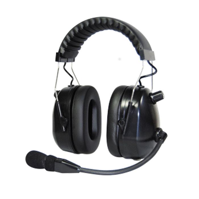 Гарнитура Vostok HDH-12 Проф. Шумозащитная, выноснй микрофон.Профессиональная шумозащитная гарнитура, с выносным микрофоном (кабель для коммутации с р/с и кнопка PTT в комплект не входит)<br>