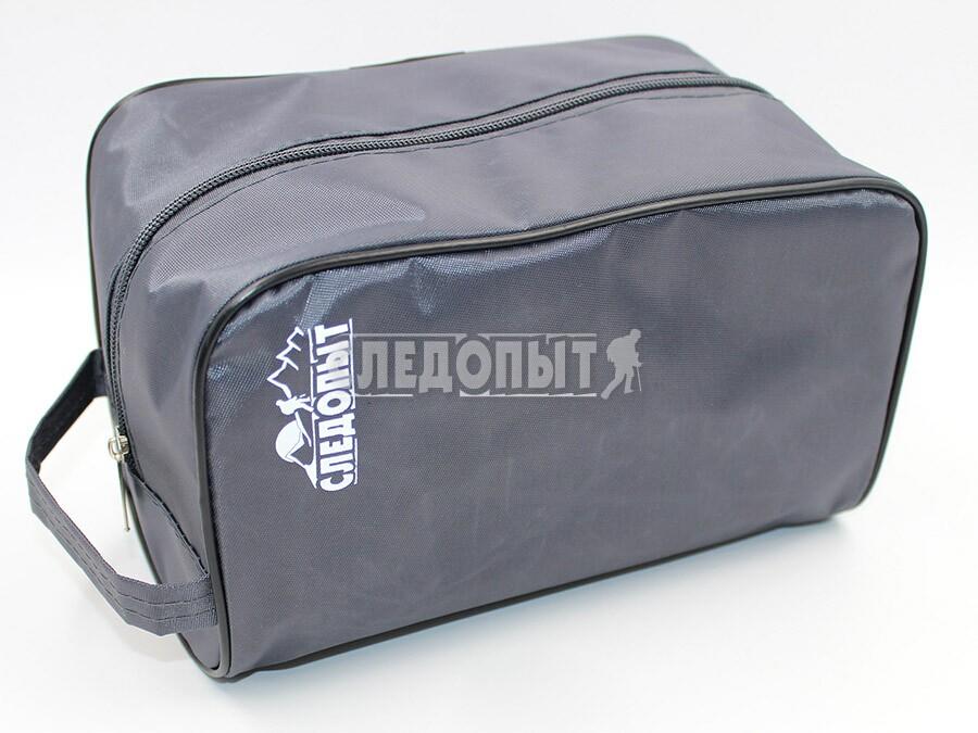 Косметичка Следопыт, сумка, 13х22,5х13см, серыйКосметичка Следопыт, 13х22,5х13см<br>