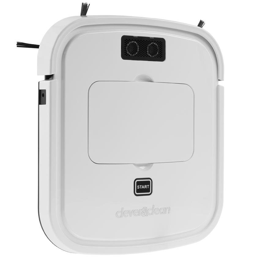 Робот-пылесос Clever &amp; Clean SLIM-Series VRpro 02Робот-пылесос SLIM-series VRpro 01 – супер тонкий робот-пылесос спроектирован с учетом возможности уборки в труднодоступных местах. Mодификация PRO отличается улучшенным аккумулятором, повышенным временем работы, дополнительной защитой корпуса от пыли, модифицированным программным обеспечением и бесколлекторным мотором всасывания с увеличенным сроком службы. Модельный ряд - 2017.<br><br>Существенно компактнее классических роботов-пылесосов - высота всего 3 см, реализован режим уборки под мебелью.<br><br>Робот осуществляет 2 вида уборки:<br><br><br>Уборка под мебелью. После обнаружения роботом низкого пространства под мебелью, он будет продолжать уборку в этой зоне 15 минут, по окончанию уборки он выйдет из-под мебели и остановится, просигнализировав завершение работы.<br><br>Уборка всего пространства. При нахождении низкого пространства под мебелью, робот производит уборку в этой зоне около 5 минут, после чего покидает зону и продолжает уборку всего помещения. Уборка в автоматическом режиме производится до полного разряда аккумуляторной батареи и может продолжаться более часа.<br><br><br><br>Тихий (эко). Уровень шума ниже классических роботов-пылесосов менее 55 дБ. В том числе благодаря технологии SmartMoto C&amp;amp;C турбо-двигателя без трения щеток, увеличенным КПД и сроком службы.<br><br>Стильный дизайн.Лауреат EXPO в HI-TECH дизайн. Пылезащитный корпус.<br><br>Заряжен. Обладает продолжительным временем работы без подзарядки, самый хороший показатель в классе мини роботов-пылесосов. Литиевый аккумулятор обеспечивает до 90 минут работы на одной зарядке и увеличенный срок службы аккумулятора.<br><br>Спец. Спроектирован с учетом уборки в труднодоступных местах. Существенно компактнее классических роботов-пылесосов - высота всего 3 см, реализован режим уборки под мебелью. 3D контроль. Ультразвуковые датчики сверху позволяют определить расположение под мебелью. Сенсоры работают по 4-м измерениям. Оптические сенсоры