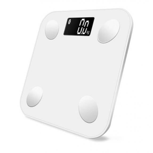 Умные напольные весы MGB Body Fat ScaleMGB Body Fat Scale – это не только высокоточные весы, но и ежедневный помощник с 7 дополнительными функциями по измерению параметров тела: вес, ИМТ, жир (%), водный баланс (%), мышцы (%), костная масса (%), калории. Подключите умные весы MGB Body Fat Scale к вашему смартфону посредством Bluetooth и получите уникальную возможность контролировать параметры тела с помощью приложения, которое будет вести запись измерений, анализировать ваши показатели и давать советы по их улучшению.<br><br>В основе современных весов MGB метод диагностики, который называется биоимпедансометрия. Если говорить простыми словами, то это анализ сопротивления тканей организма слабому току. Метод безопасный, но противопоказан беременным женщинами и людям с кардиостимулятором!<br><br>Вес кг: 1.10000000