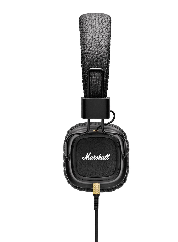 Наушники Marshall Major IIмониторные наушники с микрофоном, поддержка iPhone, импеданс 64 Ом, чувствительность 100 дБ/мВт, диаметр мембраны 40 мм, разъём mini jack 3.5 mm<br>